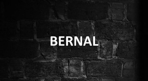 Significado de Bernal