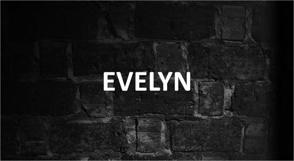 Significado de Evelyn