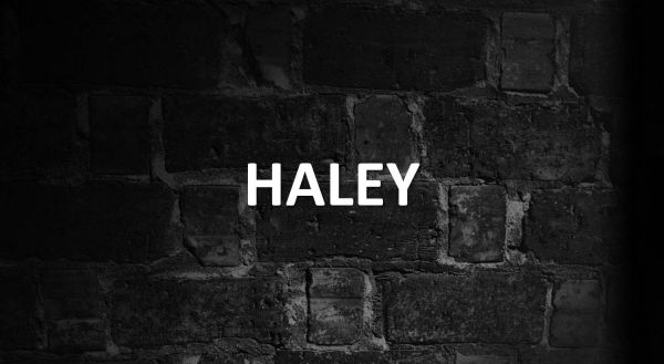 significado de haley