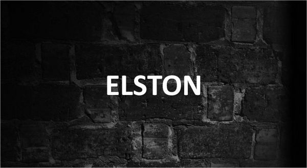 Significado de Elston