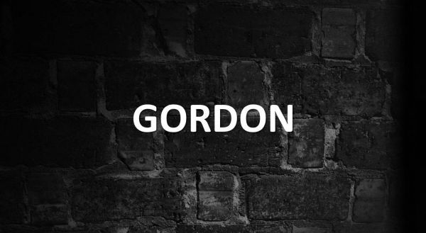 Significado de Gordon